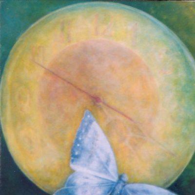 Chwila, 2005. Olej na płótnie,  80 X 65.