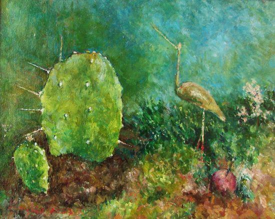 2007. Olej na płótnie, 22 X 27.