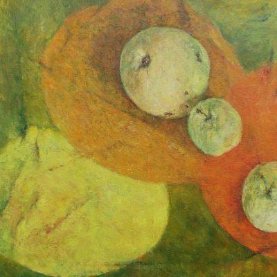 Łagodność, 2007. Olej na płótnie, 22 X 27.