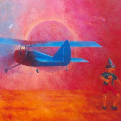 Błękit pruski, 2006, 92x110