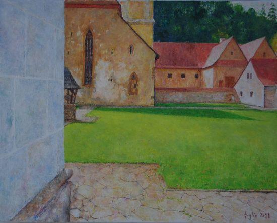 Czerwony Klasztor, 2018, 40x50