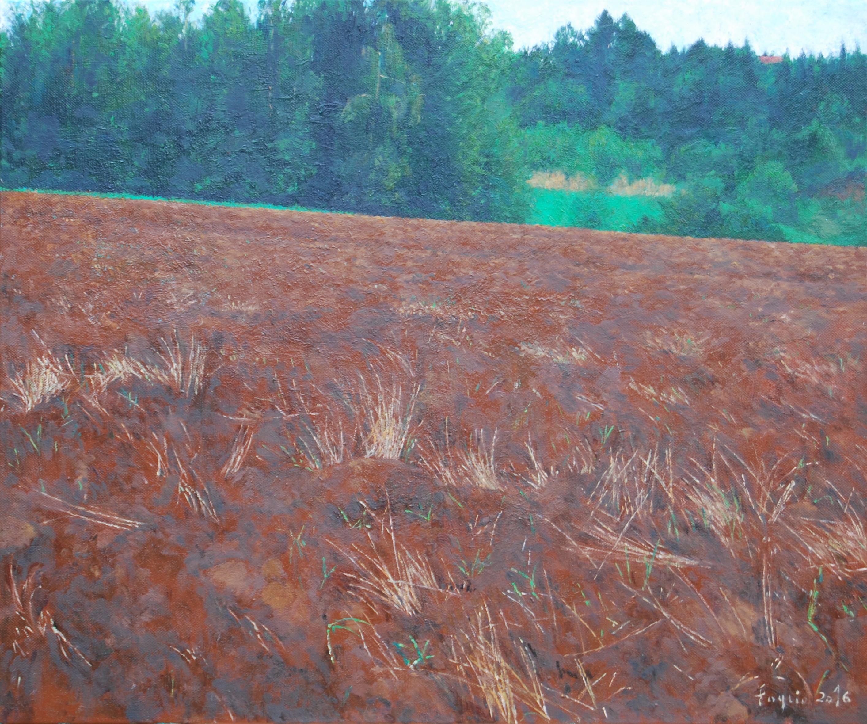Drzazgi, 50x60, 2016, olej na płótnie.