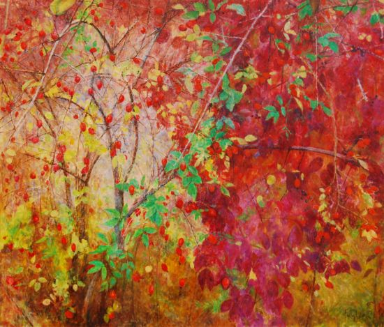 Harmider, 2016, 60x70