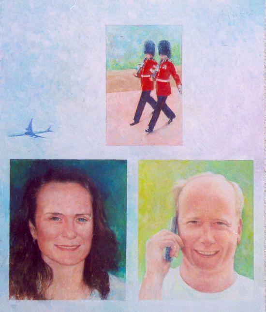 Kobieta i mężczyzna, 2006_60x50