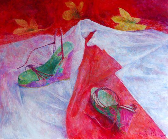 Lato, 2009. Olej na płótnie, 50 x 60.
