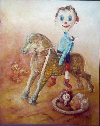 Marceli, 1996, 100x80