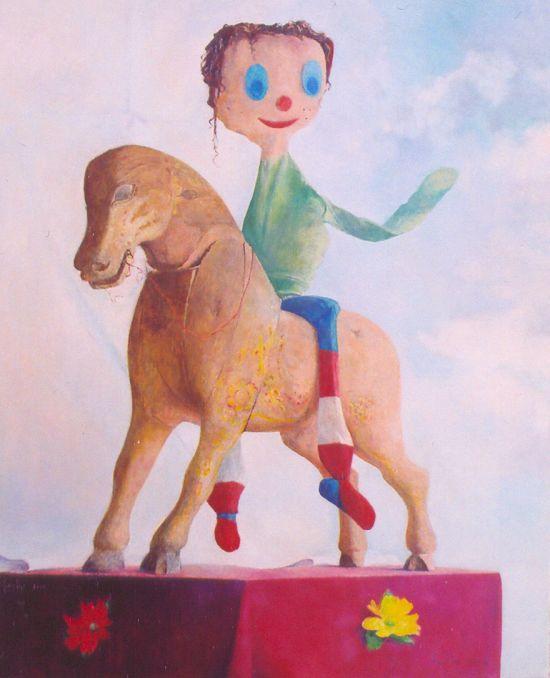 Marceli, 2004, 100x80