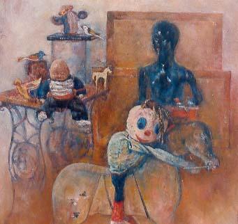 Niepewność, 1997, 80x80