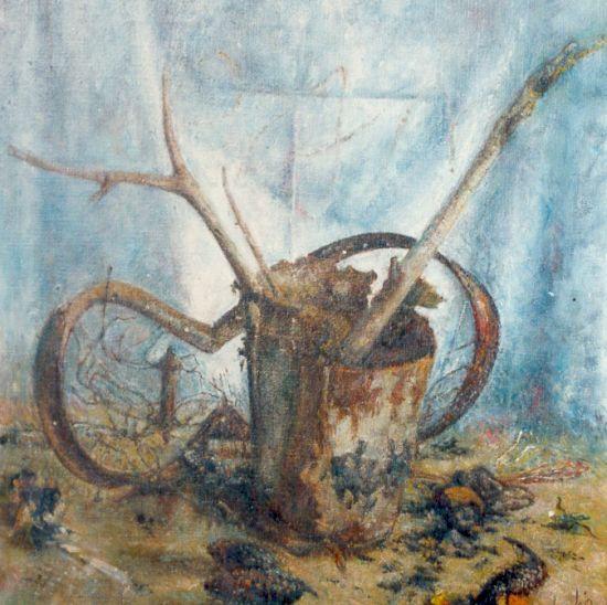 Obraz pierwszy, 1994, 80x80