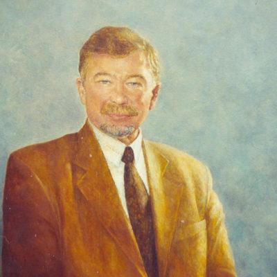 Pan Masłowski, 2001, 80x60, olej na płótnie.