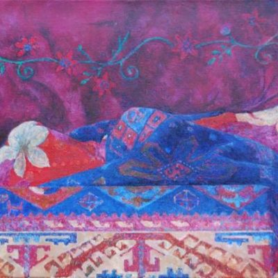 Pejzaż II, 2012, Olej na płótnie, 40 X 50.