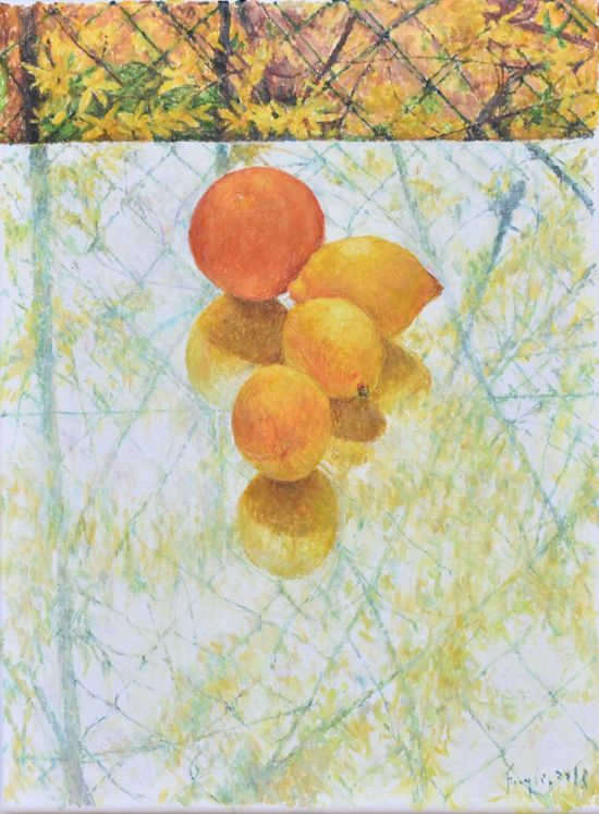 Pomarańcza, 2018, 40x30