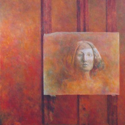Portret damy, 2006, 100x80