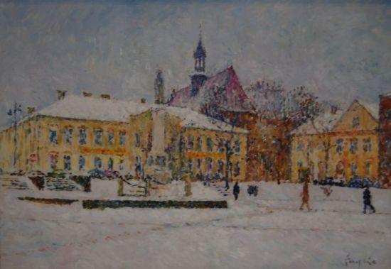 Rynek w Bochni, 2012, 21x30