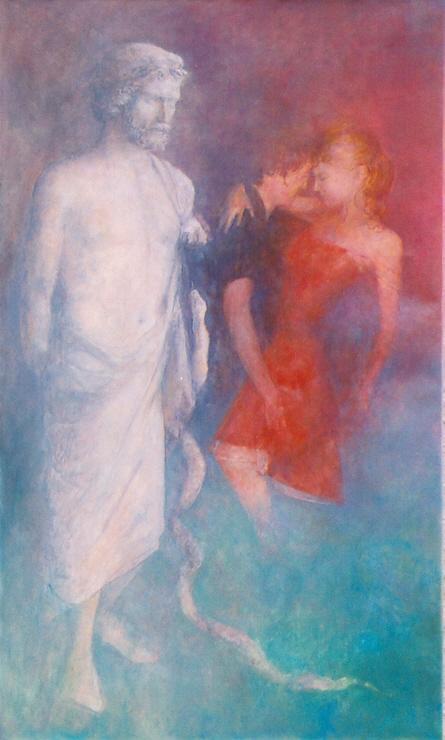 Taniec, 2005, 100x60