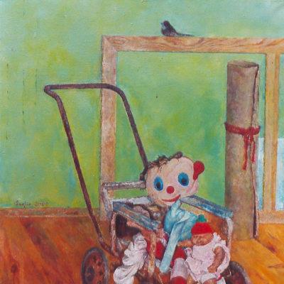 Wędrówka, 1998, 80x60