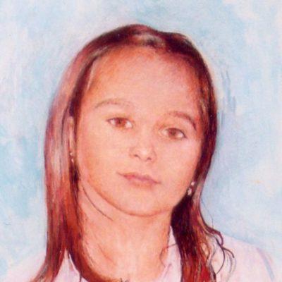 Weronika, 2006, 40x30, technika własna/płyta.