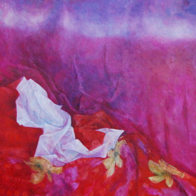 Zadziorny, 2011. Olej na płótnie, 68 X 65.