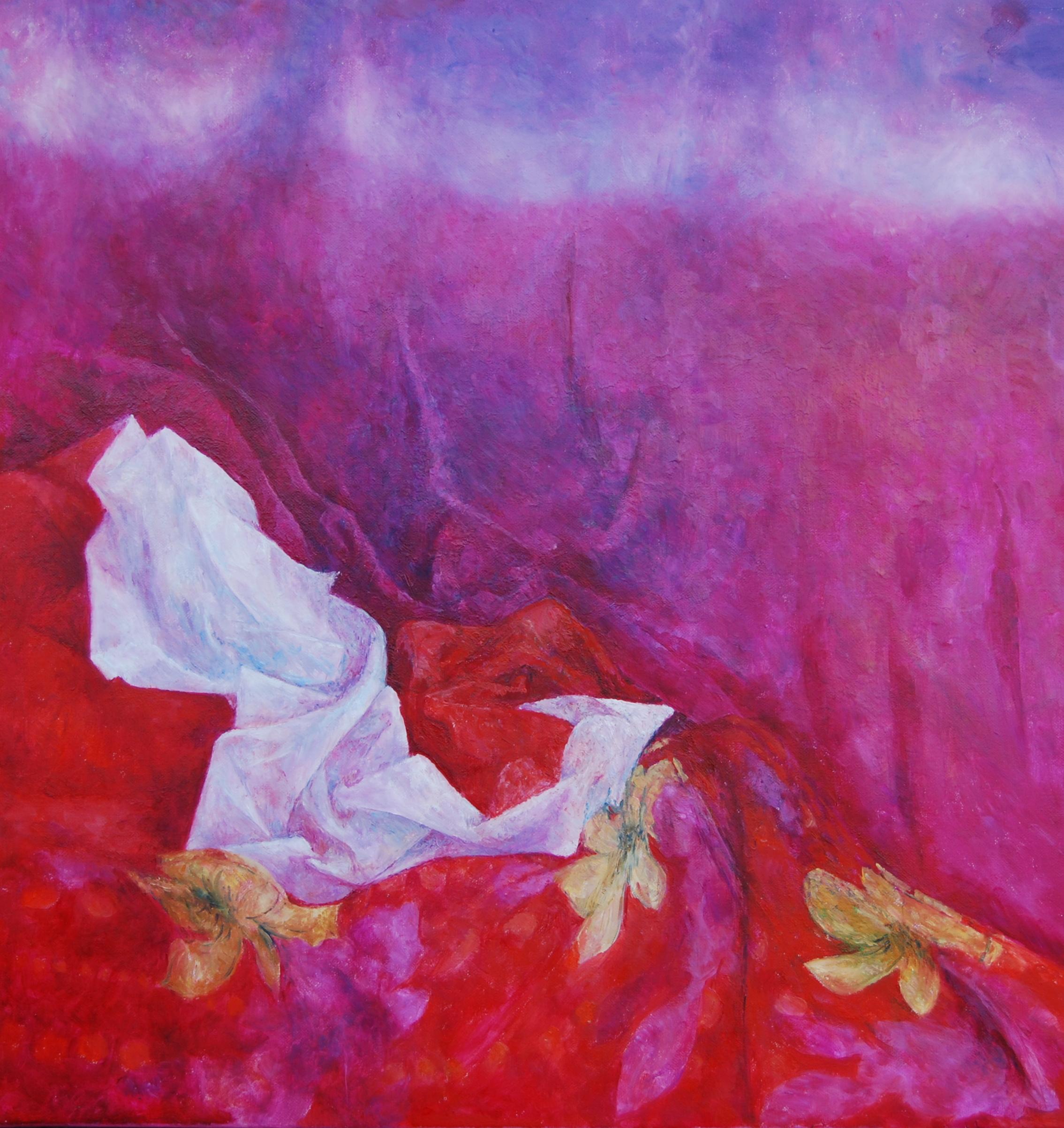 Zadziorny, 2010, olej na płótnie, 68x65