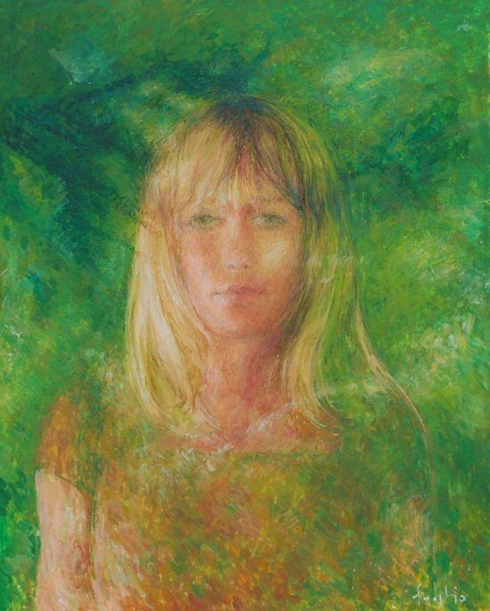 Zielony, 2009, 50x40