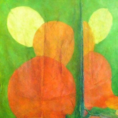 2007. Olej na płótnie, 60 x 50.