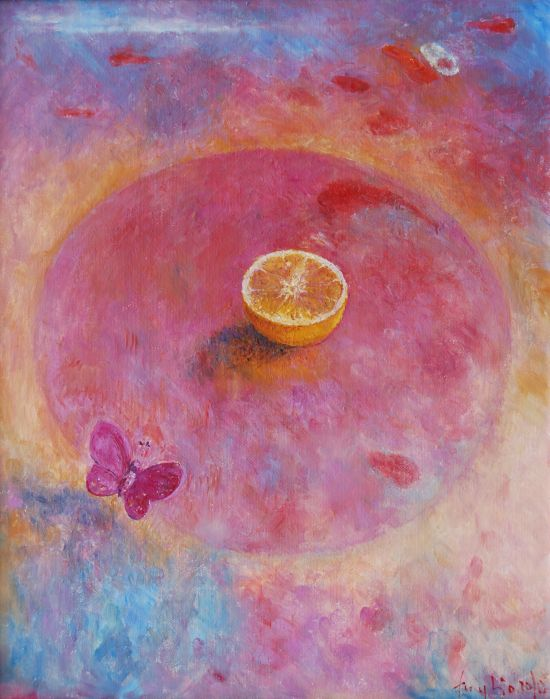 2010. Olej na płótnie, 50 x 40.