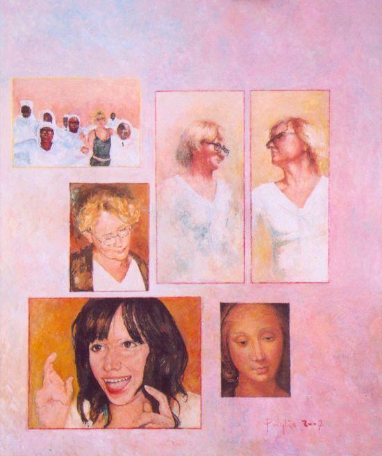 madonny, 2007, 60x50